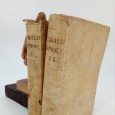 Livres anciens: OPERA OMNIA (PUBLIO VIRGILII MARONIS / PUBLIO VIRGILIO MARON) 2 TOMOS. HERMANOS DE ORGA 1795. Lote 72072275