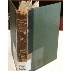 Libros antiguos: IDILIS Y CANTS MÍSTICS. Lote 73302090