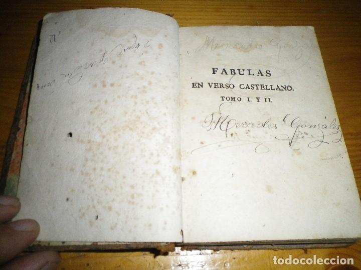 Libros antiguos: FABULAS EN VERSO CASTELLANO PARA EL USO DEL REAL SEMINARIO VASCONGADO MADRID 1804 - Foto 4 - 73458779