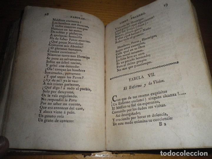 Libros antiguos: FABULAS EN VERSO CASTELLANO PARA EL USO DEL REAL SEMINARIO VASCONGADO MADRID 1804 - Foto 9 - 73458779