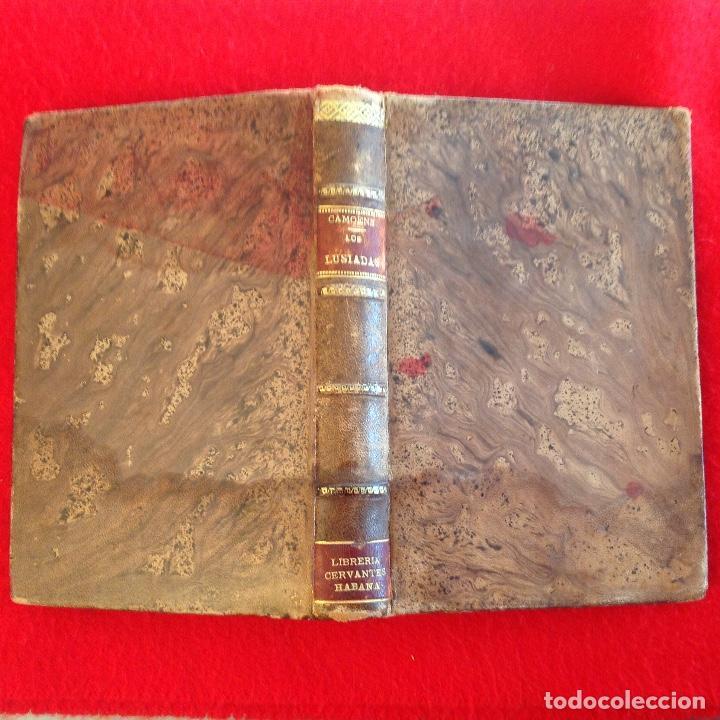 LOS LUSÍADAS, DE LUIS DE CAMOENS, MADRID, 1911, BIBLIOTECA CLÁSICA, TRADUCION DE LAMBERTO GIL. (Libros antiguos (hasta 1936), raros y curiosos - Literatura - Poesía)