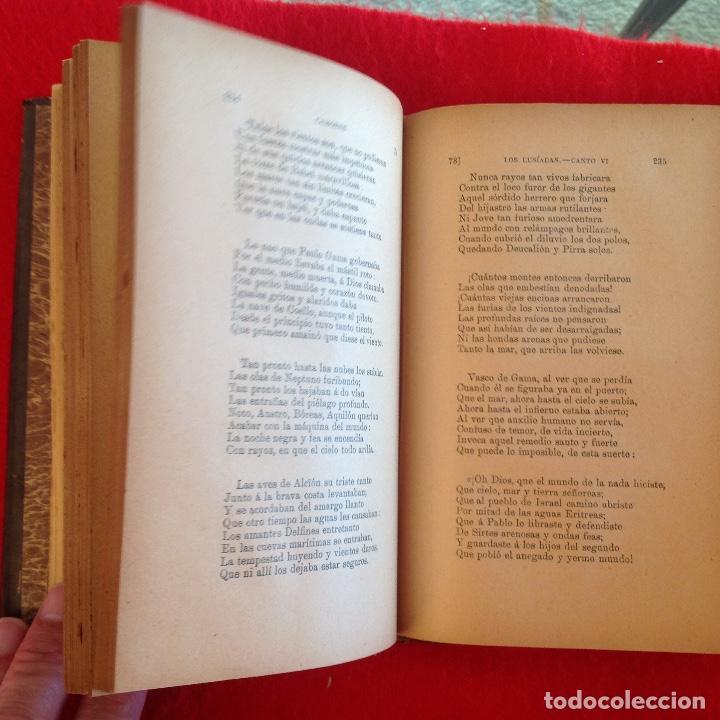 Libros antiguos: Los lusíadas, de Luis de Camoens, Madrid, 1911, biblioteca clásica, traducion de Lamberto Gil. - Foto 3 - 73469251