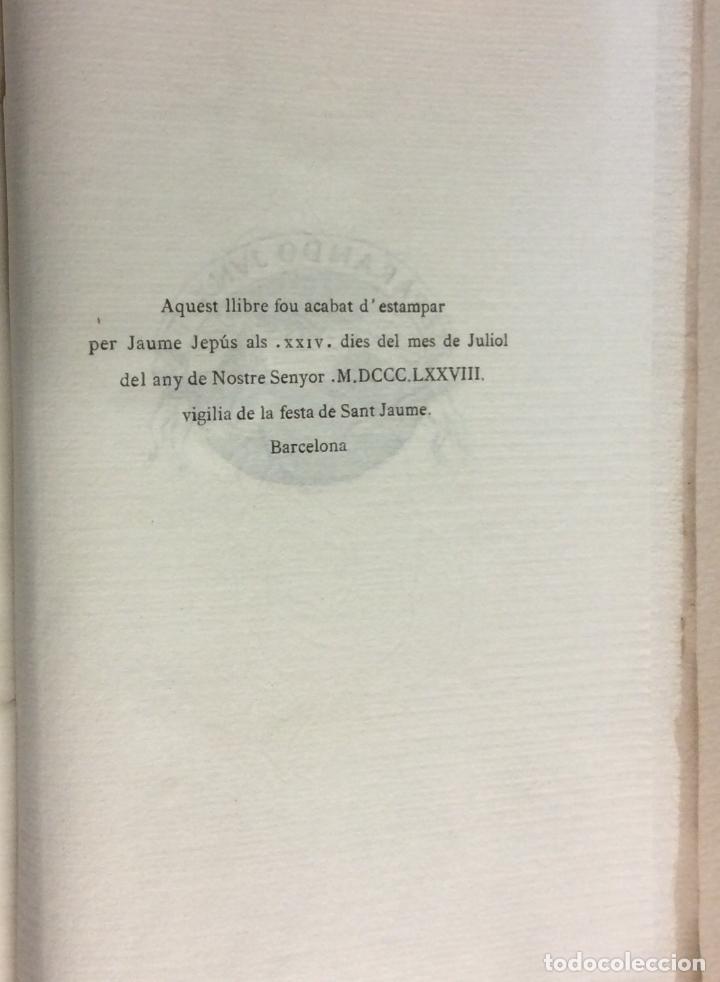 Libros antiguos: PRIMERA EDICIÓN. LA ATLANTIDA. J. VERDAGUER. 1878. EDICION BILINGÜE, EN PAPEL DE HILO. - Foto 3 - 73894603