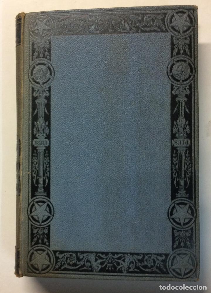 Libros antiguos: PRIMERA EDICIÓN. LA ATLANTIDA. J. VERDAGUER. 1878. EDICION BILINGÜE, EN PAPEL DE HILO. - Foto 5 - 73894603