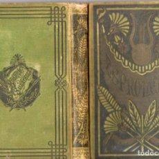 Libros antiguos: OBRAS POÉTICAS DE ESPRONCEDA PRECEDIDAS DE LA BIOGRAFÍA DEL AUTOR (SALVATELLA, 1890). Lote 75605143