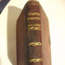 Libros antiguos: 1865 ROMANCES DE CIEGO - COLECCION DE CANTARES POR JOAQUIN ASENCIO DE ALCANTARA . Lote 76021463