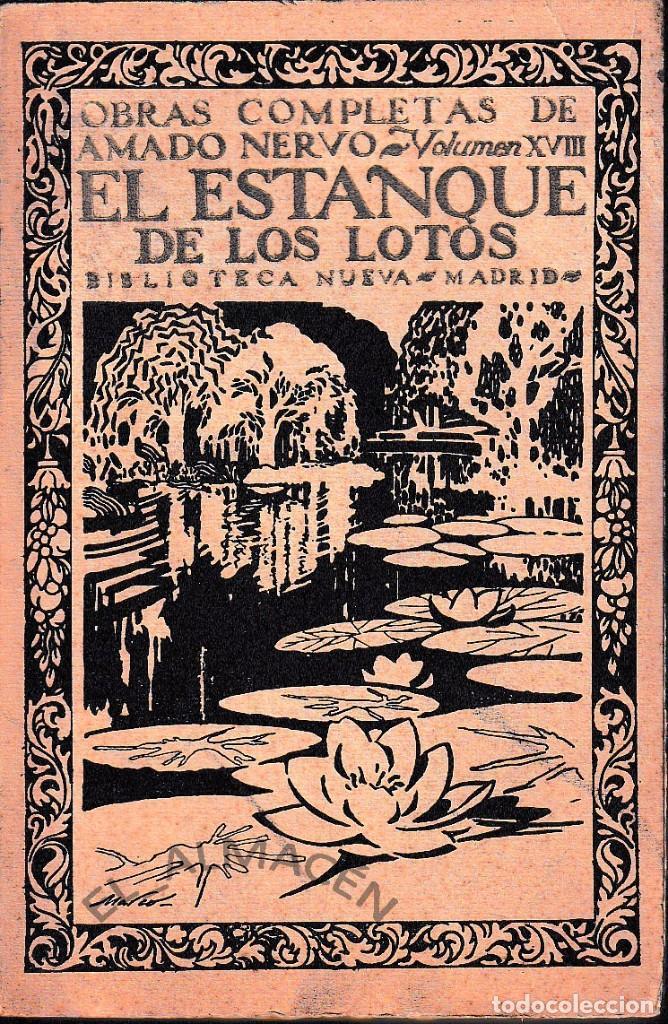 el estanque de los lotos (amado nervo 1927) sin - Comprar Libros ...