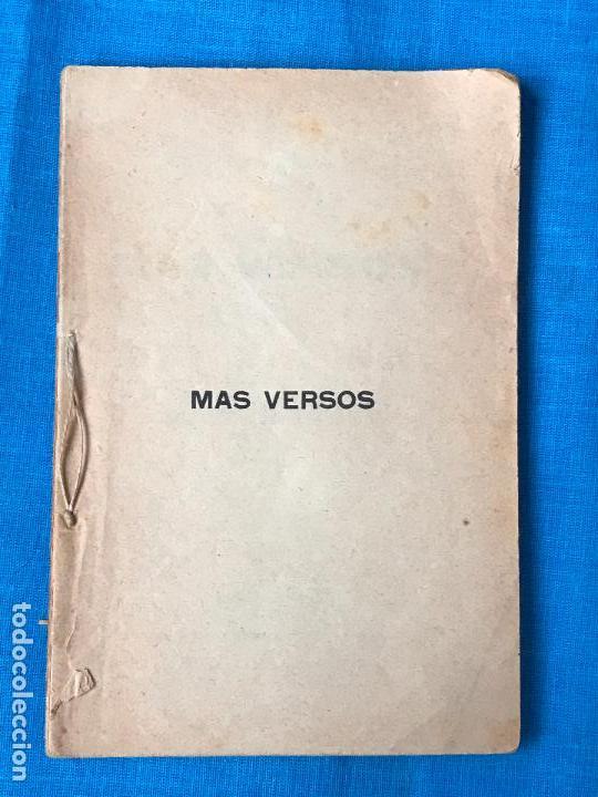 Libros antiguos: Mas versos - Poeta murciano Jose Tolosa Hernandez - Murcia 1894 - Foto 3 - 77255329