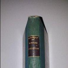 Libros antiguos: LAS MEJORES POESIAS GALLEGAS - 1914 - E.LOPEZ AYDILLO. Lote 77476301