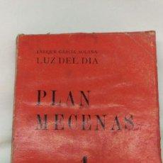Libros antiguos: PLAN MECENAS, . Lote 78407709