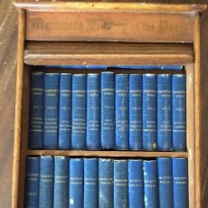 Libros antiguos: MINIATURE LIBRARY OF THE POETS, ESPECTACULAR 1880 24 VOL.. Lote 78507245