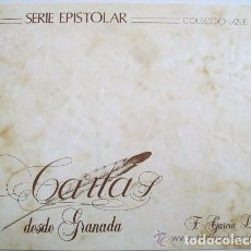 Libros antiguos: SERIE EPISTOLAR. CARTAS DESDE GRANADA. F. GARCIA LORCA. CORREOS 1992. Lote 78643697