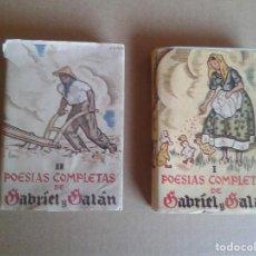 Libros antiguos: POESIAS COMPLETAS I Y II. Lote 78839521