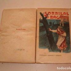 Libros antiguos: FRANCISCA HERRERA Y GARRIDO. SORRISAS E BÁGOAS. RM79331. . Lote 79207785