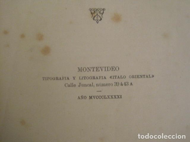Libros antiguos: GOTAS DE TINTA - POEMAS - HORACI FLACH -MONTEVIDEO AÑO 1887-91 -VER FOTOS-(V-10.073) - Foto 3 - 80766522