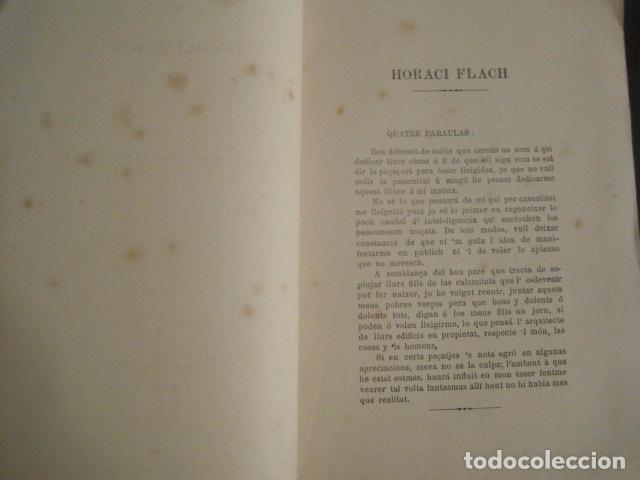 Libros antiguos: GOTAS DE TINTA - POEMAS - HORACI FLACH -MONTEVIDEO AÑO 1887-91 -VER FOTOS-(V-10.073) - Foto 4 - 80766522