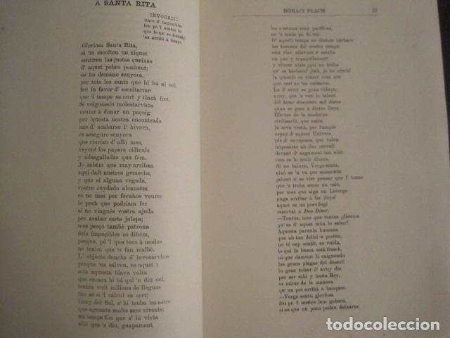 Libros antiguos: GOTAS DE TINTA - POEMAS - HORACI FLACH -MONTEVIDEO AÑO 1887-91 -VER FOTOS-(V-10.073) - Foto 5 - 80766522