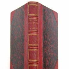 Libros antiguos: 1863. OBRAS COMPLETAS DE JUVENAL Y PERSIO. SÁRITAS. LITERATURA LATINA. ROMA. BILINGÜE LATÍN-FRANCÉS. Lote 81849964
