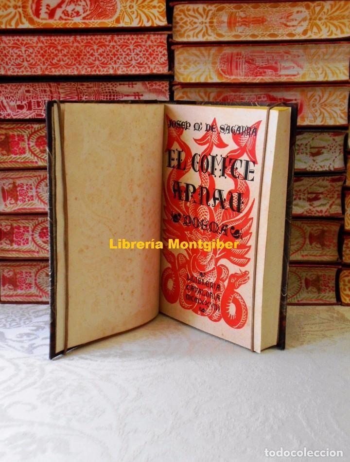 Libros antiguos: EL COMTE ARNAU . Poema . Autor : Sagarra, Josep Mª de - Foto 4 - 83631224