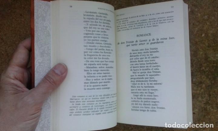 Libros antiguos: Flor nueva de romances viejos (1976) / Ramón Menéndez Pidal. Espasa Calpe. - Foto 10 - 83956212