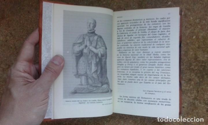 Libros antiguos: Flor nueva de romances viejos (1976) / Ramón Menéndez Pidal. Espasa Calpe. - Foto 11 - 83956212