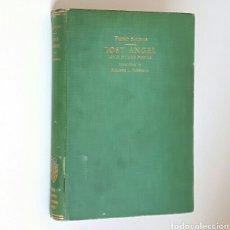 Libros antiguos: PEDRO SALINAS. LOST ANGEL AND OTHER POEMS. 1938. EN INGLÉS Y EN CASTELLANO. PRIMERA EDICIÓN.. Lote 85838490