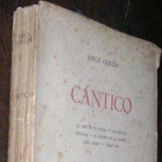 Alte Bücher - jorge guillen cantico 1936 editorial cruz y raya - 87427264