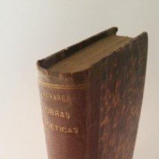 Libros antiguos: 1816 - NICASIO ÁLVAREZ CIENFUEGOS - OBRAS POÉTICAS - TOMO I. Lote 87852624