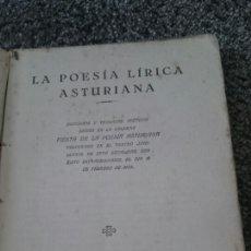 Poesía lírica Asturiana,Gijón,Asturias, bable, muy raro,ved las fotos