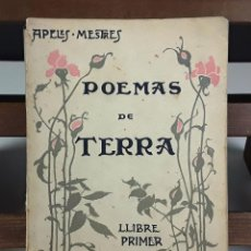 Libros antiguos: POEMAS DE TERRA. APELES MESTRE. TIP. SALVAT Y CIA. 1906.. Lote 88778308