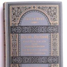 Libros antiguos: ORIENT UND OCCIDENT (1885) - JULIUS HART - ANTOLOGÍA DE LA POESÍA UNIVERSAL - RARO Y BIEN CONSERVADO. Lote 88928900