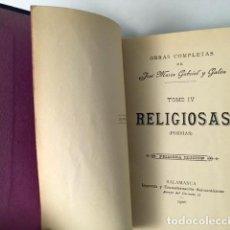 Libros antiguos: GABRIEL Y GALÁN : RELIGIOSAS (1ª EDICIÓN, SALAMANCA 1906) . Lote 89835756