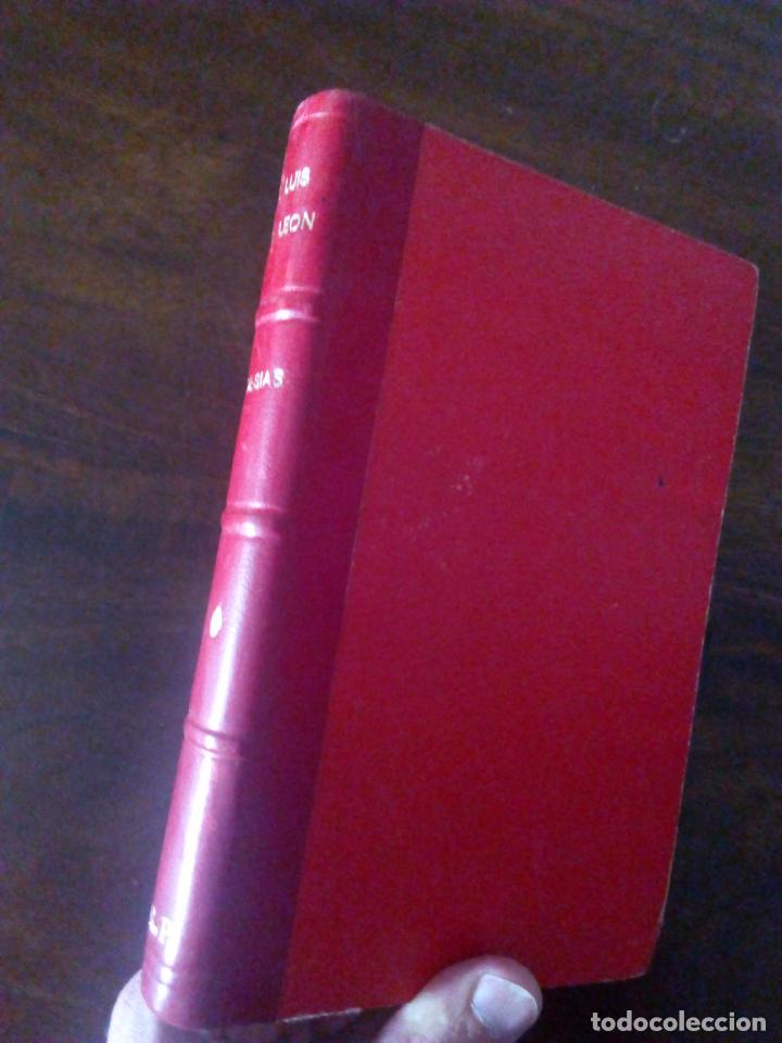 Libros antiguos: Fray Luis de León. Poesías. Con Anotaciones de Menéndez y Pelayo. 1928. - Foto 2 - 90043740