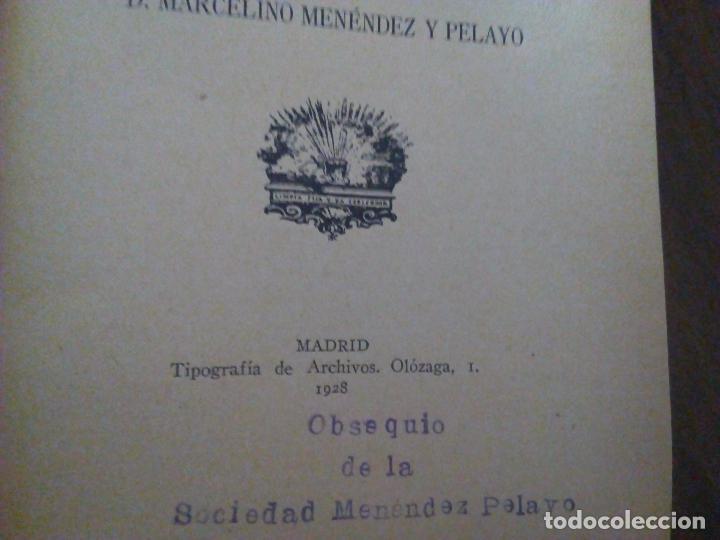 Libros antiguos: Fray Luis de León. Poesías. Con Anotaciones de Menéndez y Pelayo. 1928. - Foto 5 - 90043740