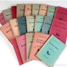 Libros antiguos: ELS POETES D'ARA. VARIOS AUTORES. 21 EJEMPLARES. EDICIONS LIRA. 1924.. Lote 90623690