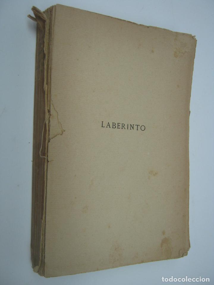 1ª EDICION AÑO 1913 - JUAN RAMON JIMENEZ . POESIA . LABERINTO . ED. RENACIMIENTO (Libros antiguos (hasta 1936), raros y curiosos - Literatura - Poesía)