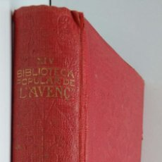 Libros antiguos: BIBLIOTECA POPULAR L'AVENÇ PALMA, PELLICO, PERRAULT I POETES VALENCIANS. Lote 93876590