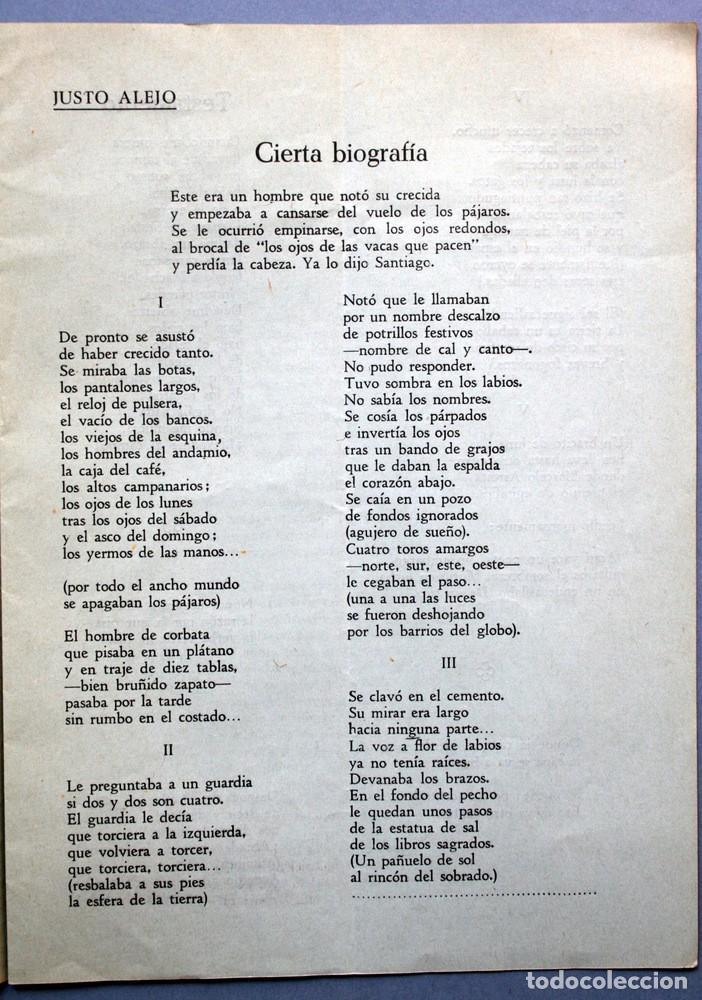 Libros antiguos: 1959 - PLIEGO CORDEL - FRANCISCO PINO - dedicatoria de Pino - ARENALES - VALLADOLID - Foto 4 - 94032000