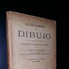 Libros antiguos: DIBUJO / ALBERTO COMMELERAN / 1920. Lote 94056410