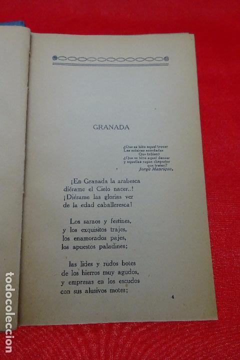 Libros antiguos: POESÍAS - JUAN AROLAS - BIBLIOTECAS POPULARES CERVANTES - MADRID - CIRCA 1900 - - Foto 3 - 94486962