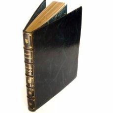 Libros antiguos: 1937 - 1ª ED. - BIBLIOFILIA - MIQUEL SAPERAS: BREVIARI D'AMOR. ILUSTRACIONES DE A. FONT -PLENA PIEL. Lote 94526694