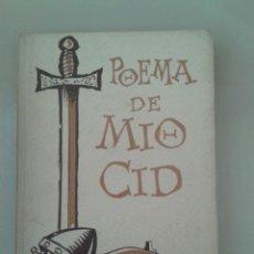 Livros antigos: POEMA DE MIO CID. Lote 94775015