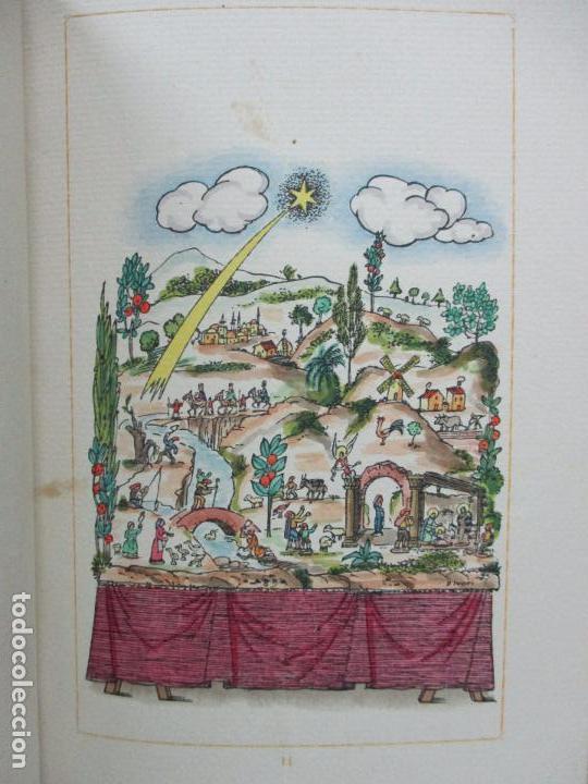 Libros antiguos: NADAL POEMA DRAMÀTIC EN UN ACTE I DOS QUADRES. JOSEP M. RIBES MONFAR. IL·LUSTR. DIVORI.1936. - Foto 4 - 97139703