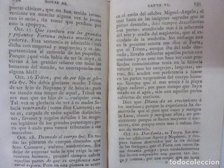 Libros antiguos: LOS LUSÍADAS. POEMA ÉPICO DE LUIS DE CAMOENS. 1818. TOMO II. - Foto 2 - 97276623