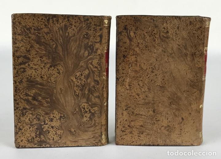 Libros antiguos: La Araucana. Poema-D.Alonso de Ercilla y Zuñiga-Imprenta de D.M.de Burgos, Madrid 1828-Tomos 1 y 2 - Foto 3 - 288463058