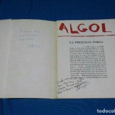 Libros antiguos: (M) REVISTA ALGOL EN HOMENATGE A JOAN PONÇ , EDICIO DE MAIG 1984 , BUEN ESTADO. Lote 98382219
