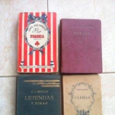 Libros antiguos: LOTE LIBROS ANTIGUOS. Lote 101194947