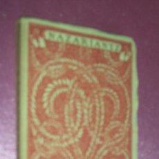 Libros antiguos: NAZARIANTZ. LAS MEJORES POESIAS (LIRICAS) DE LOS MEJORES POETAS ED . CERVANTES . Lote 101887787