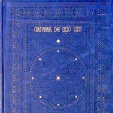 Libros antiguos: CANTAR DE MIO CID. POEMA EPICO. (EDICION DE LUJO. EJEMPLAR NUMERADO. GRABADOS DE GUSTAVO DORE.. Lote 101979291