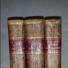 Libros antiguos: COLECCION DE POESIAS CASTELLANAS ANTERIORES AL SIGLO XV. TOMOS I, II Y III (1779, 80, 82) PRIMERA ED. Lote 102359543